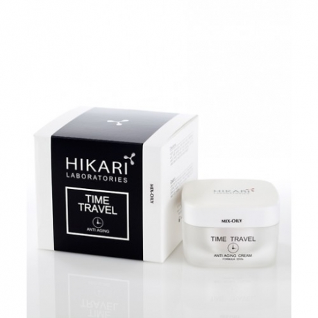 Rasusele/kombineeritud nahale kreem - HIKARI TIME TRAVEL CREAM 50 ML (MIX/OILY SKIN)