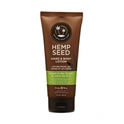 Süvaniisutav kehakreem HEMP SEED HAND & BODY LOTION NAKED IN THE WOODS