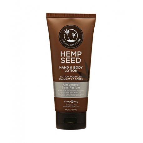 Lõhnatu kehakreem HEMP SEED HAND & BODY LOTION UNSCENTED